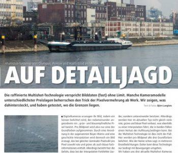 Ein Artikel in der Zeitung Photographie von Björn Langlotz