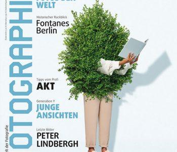 Titelbild der Ausgabe 1-2/2020 der Zeitung Photographie mit meinem Artikel zum Thema Dynamikumfang.