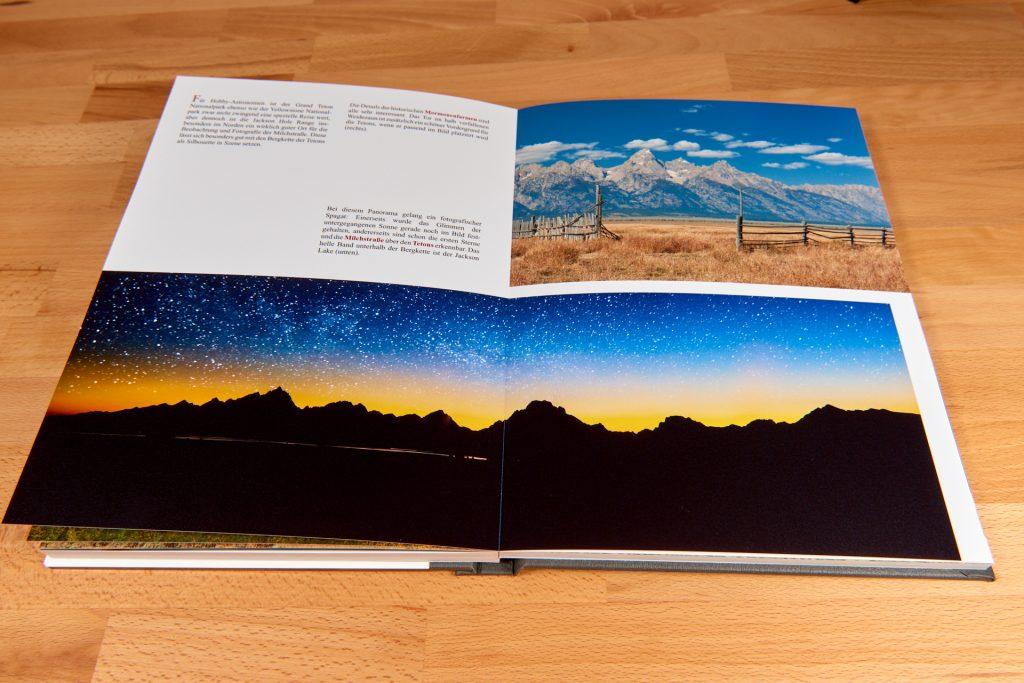 Extreme Tiefen im Professional Line Fotobuch von Saal Digital